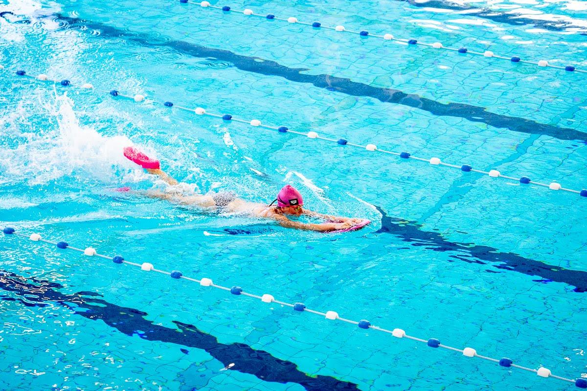 Zoomers zwemmen