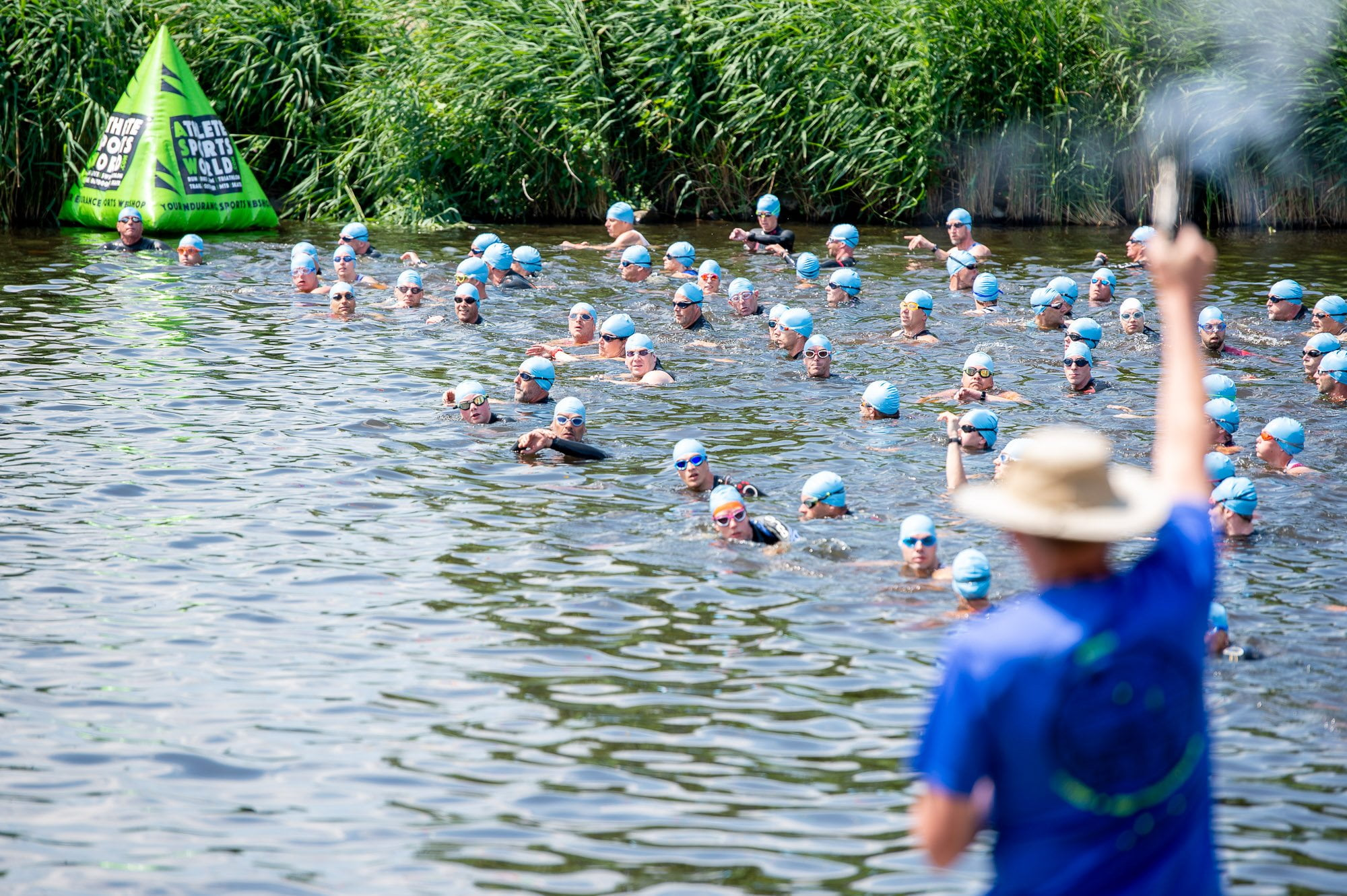 Openwater start triathlon