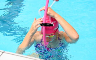 Zwemsnorkel opzetten