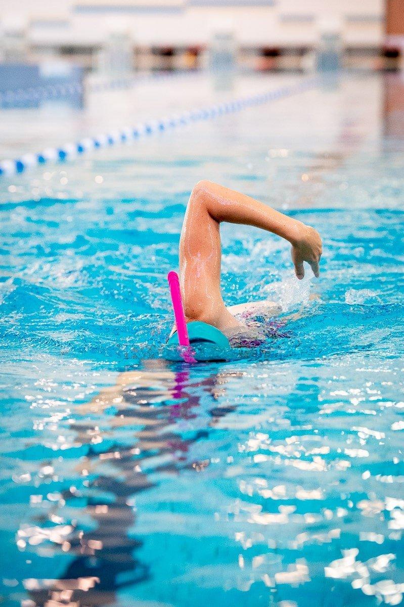 Zwemsnorkel - frontale snorkel