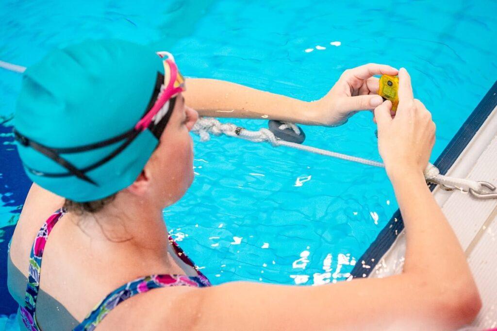 Tempo trainer zwemmen