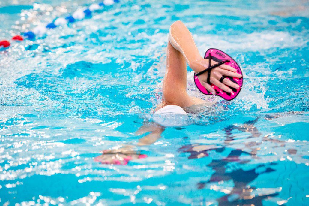 Zwemmen met paddles