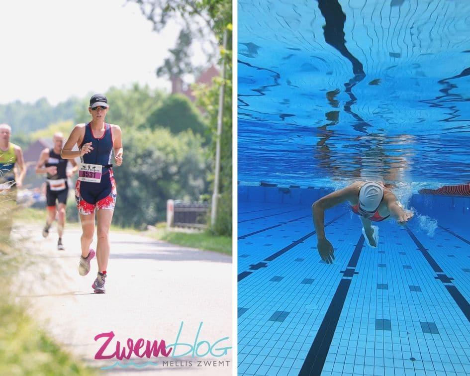 Zwemmen of Hardlopen