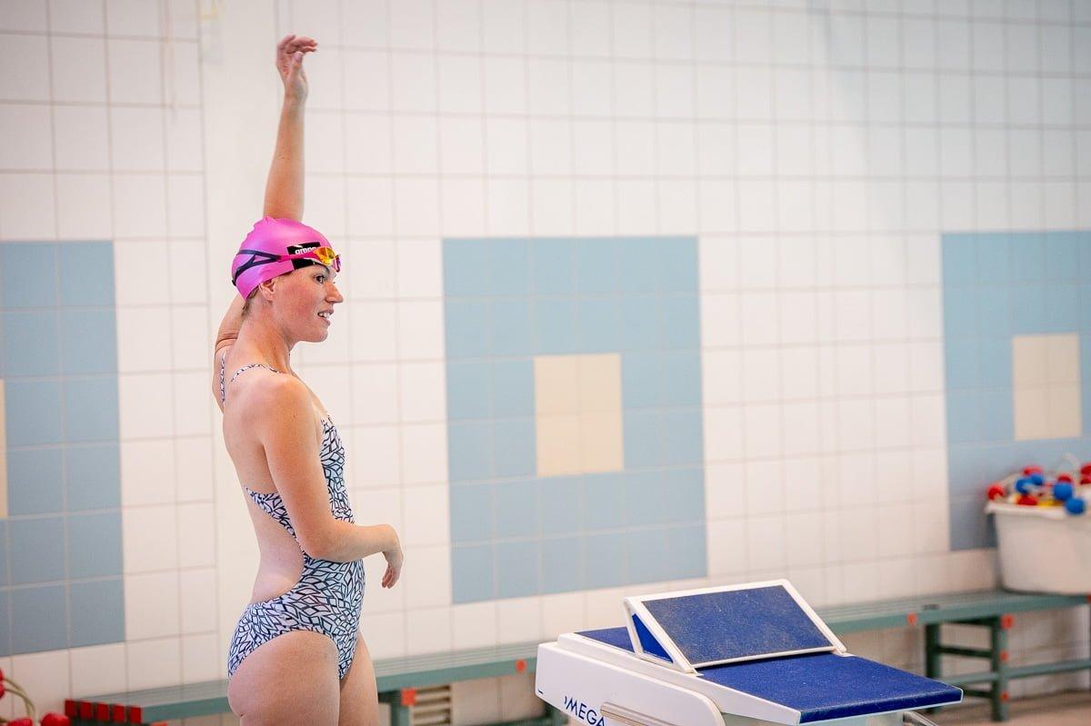 Master zwemwedstrijd