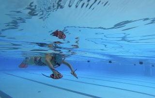 Wrikken zwemmen