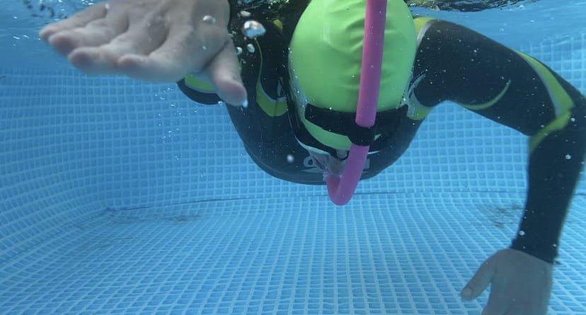 Onderwater shot