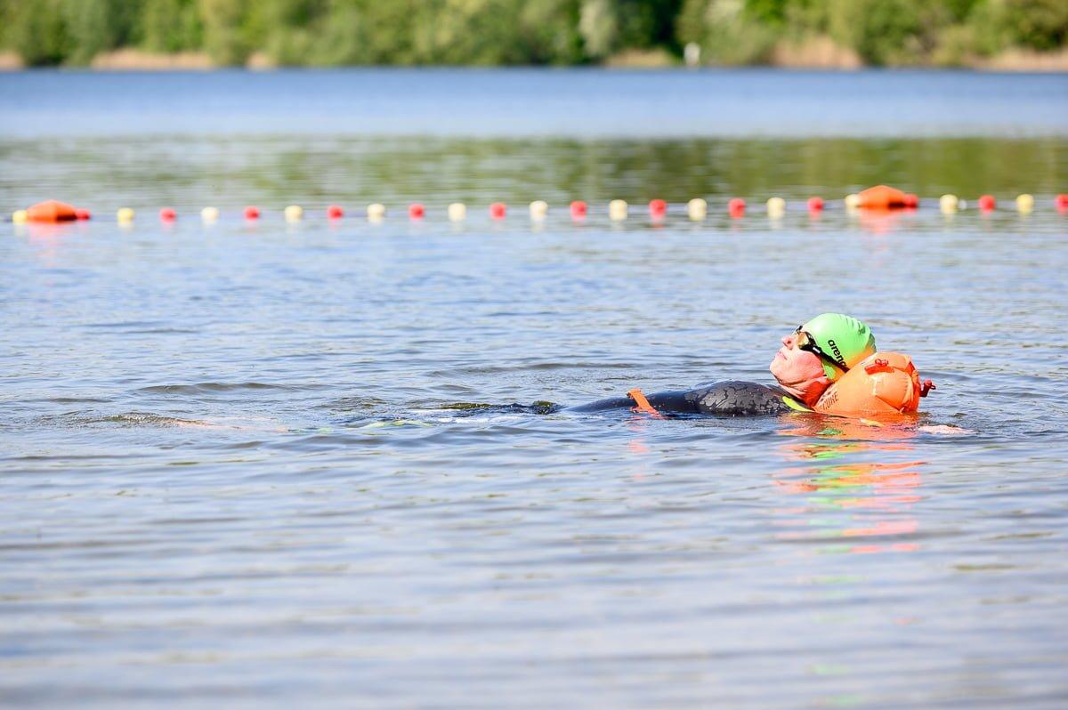 Drijfvermogen zwemboei