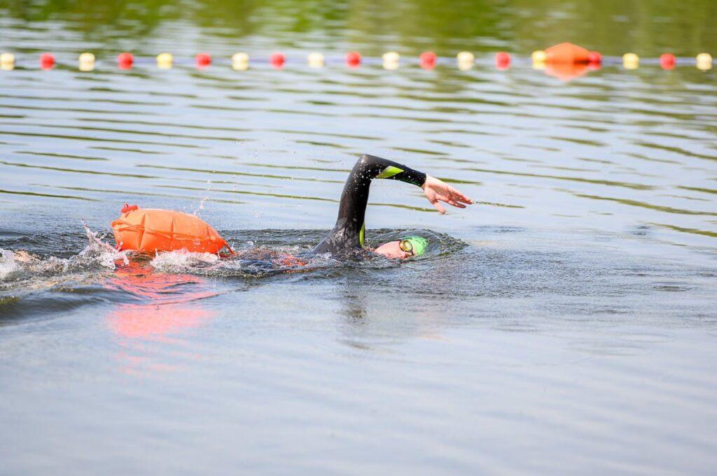 Zwemmen zwemboei