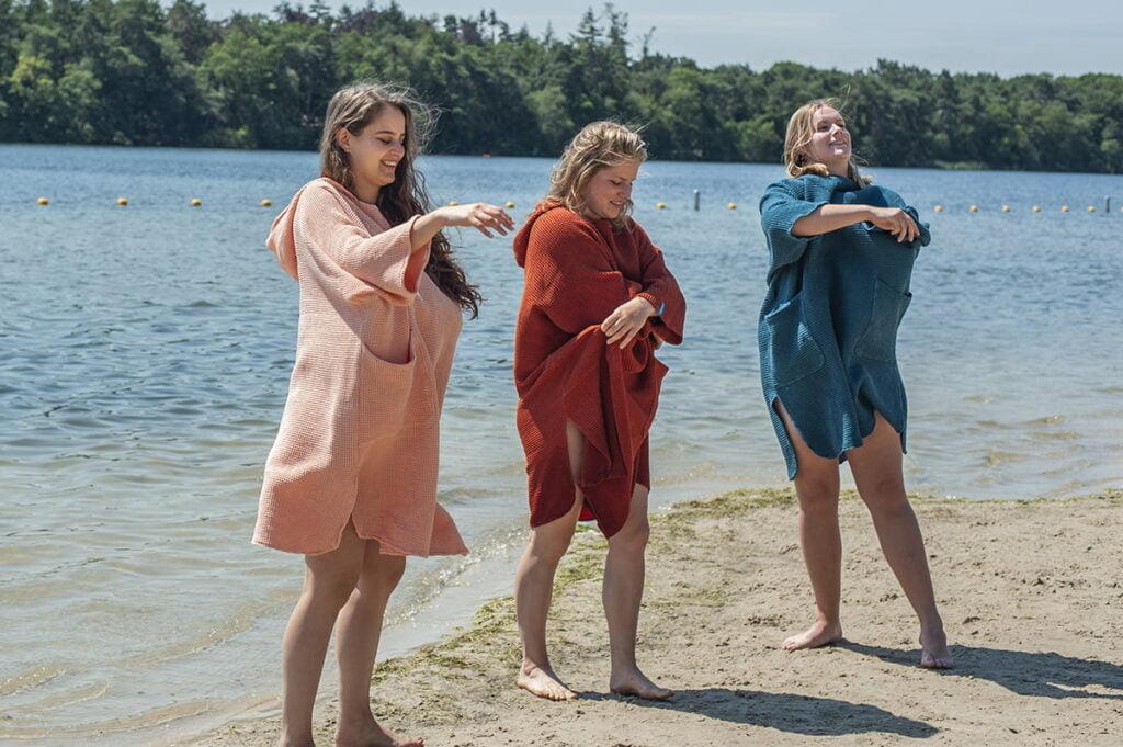 Omkleedponcho - zeemeermantel