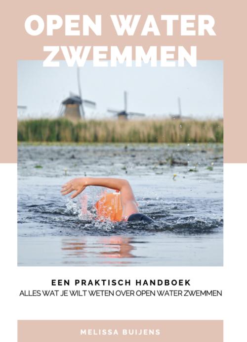 Cover ebook Open water zwemmen