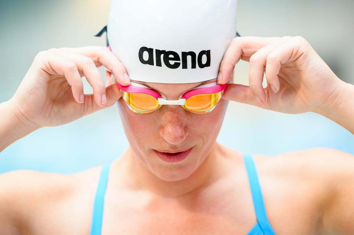 Arena zwembril