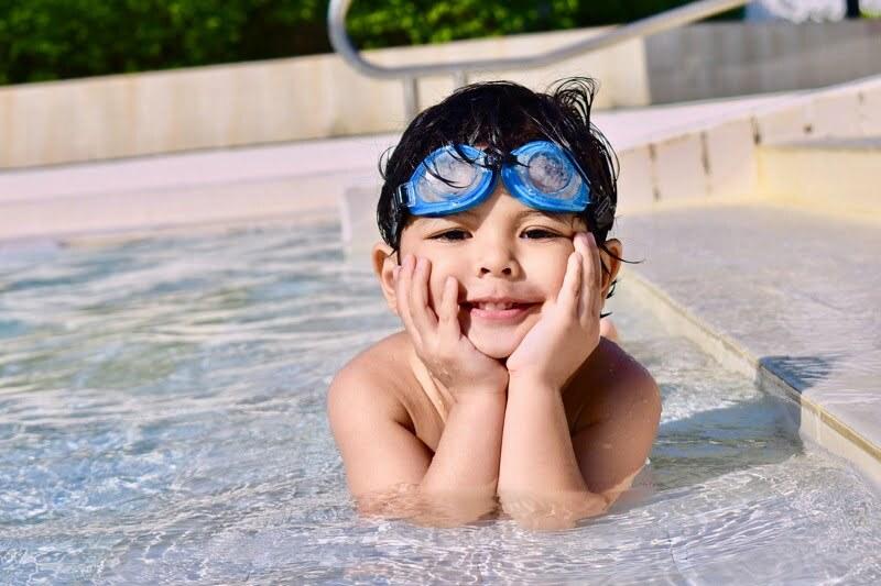 zwembril kind
